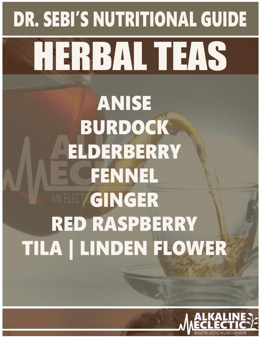 NUTRITIONAL GUIDE TEAS MAIN