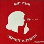Nej, nu är det hög tid att sluta förhala och sätta igång och vara kreativ i stället!