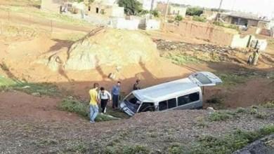 Photo of إصابة 14 شخص بينهم 11 طالبة ثانوية عامة بحادث سير بريف الحسكة