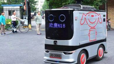 Photo of روبوتات ذاتية القيادة لتوصيل الطلبات في الصين