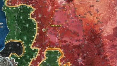 Photo of الجيش العربي السوري يحكم قبضته على 400 كلم من المنطقة الجنوبية