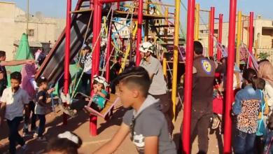 "Photo of عناصر مخمورة من ""الجبهة الشامية"" يقتحمون ""حديقة أطفال"" في اعزاز المحتلة"