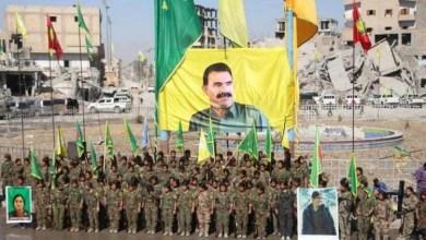 """Photo of إزالة صور أوجلان ورايات """"حزب العمال الكردستاني"""" بالحسكة .. وقيادي بارز يعلق"""