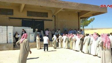 Photo of توزيع 1500 خلية نحل على المتضررين في السفيرة بريف حلب