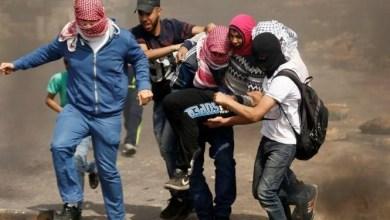 """Photo of إصابة تسعة فلسطينين برصاص الاحتلال """"الاسرائيلي"""" بمخيم الجلزون بالضفة الغربية"""