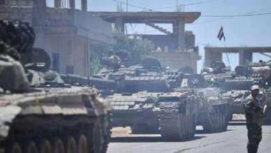 Photo of الجيش العربي السوري يشارف على السيطرة على كامل المنطقة الجنوبية
