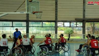 Photo of منتخب حمص بطلا للجمهورية بكرة السلة على الكراسي المتحركة