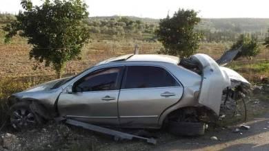 Photo of وفاة طفلة وفتى في حادث سير على طريق اللاذقية الحفة