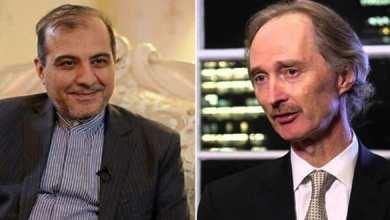 Photo of مساعد وزير الخارجية الإيراني وبيدرسون يبحثان تطورات الأوضاع في سوريا