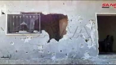 Photo of مجموعات إرهابية تستهدف مدينة سراقب بالقذائف الصاروخية