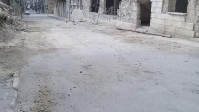 """Photo of بلدية حلب تزيل مكب نفايات بحي """"القاطرجي"""" لكن مشكلة الأنقاض تبقى"""