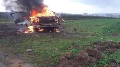 Photo of مقتل مسلح بانفجار سيارة مفخخة قرب مدينة عفرين المحتلة