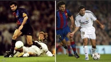 Photo of أشهر اللاعبين اللذين لعبوا في صفوف برشلونة وريال مدريد