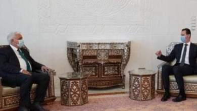 Photo of الرئيس الأسد يتلقى رسالة من رئيس الوزراء العراقي