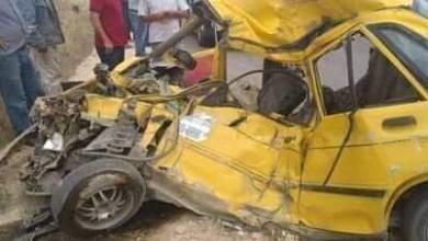 Photo of وفاة ثلاثة أشخاص من بينهم طفل في حادث مروري على طريق رنكوس صيدنايا