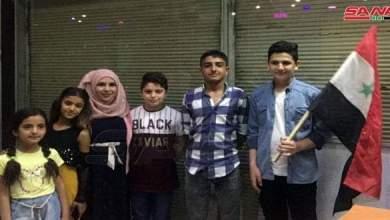 Photo of فريق سوري من القامشلي يحرز المركز الأول في البطولة العربية للحساب الذهني