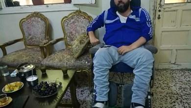 """Photo of """"جريح وطن"""" في حمص يتفوق في الشهادة الإعدادية ويطمح للصيدلة"""