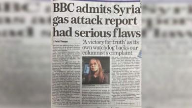 "Photo of الـ""بي بي سي"" تعترف: الوثائقي حول الهجوم الكيميائي في دوما يحتوي إدعاءات كاذبة"