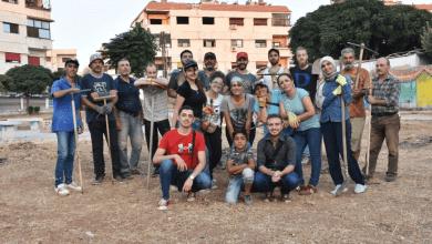 """Photo of """"حمص يا دار السلام""""… مبادرة مجتمعية لترميم حدائق حمص"""
