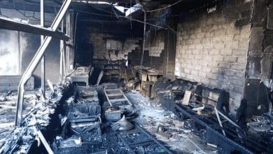 Photo of وفاة فتاتين سوريتين جراء حريق في فندق بأربيل