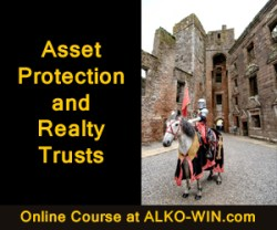 The Millionaire Mindset of Asset Protection and Realty Trusts