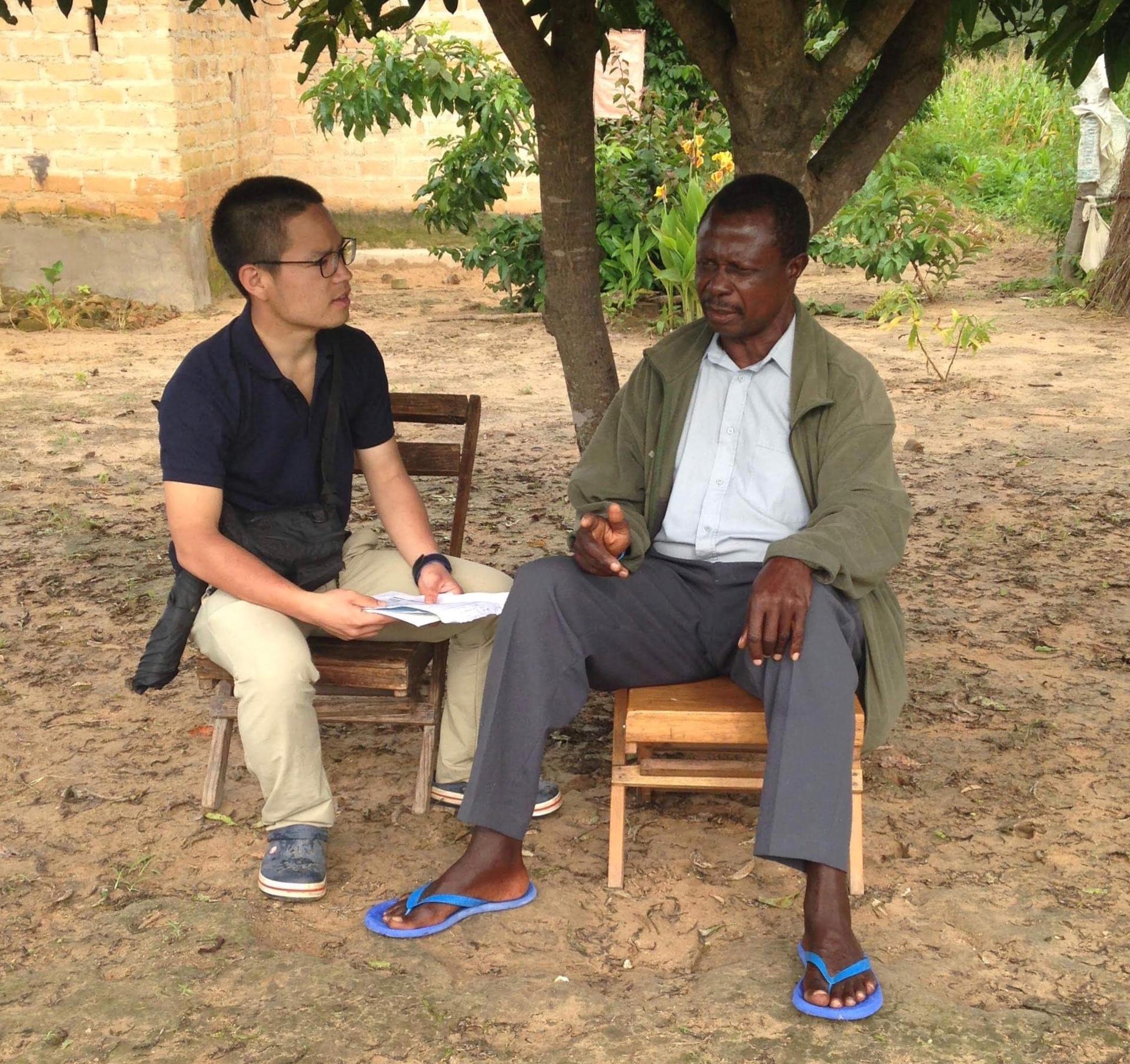 笑顔を見るためのザンビア訪問で流した涙、受け身になってしまった村人。