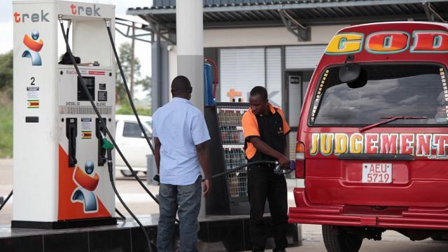 ジンバブエ 燃料価格が152%上昇