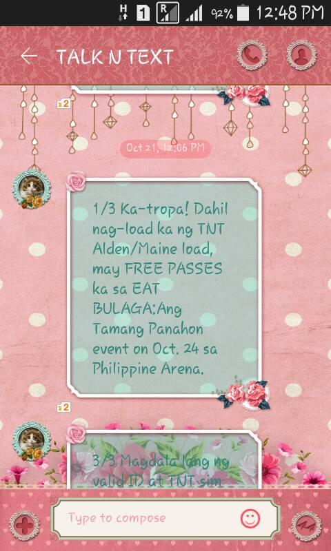 aldub free passes