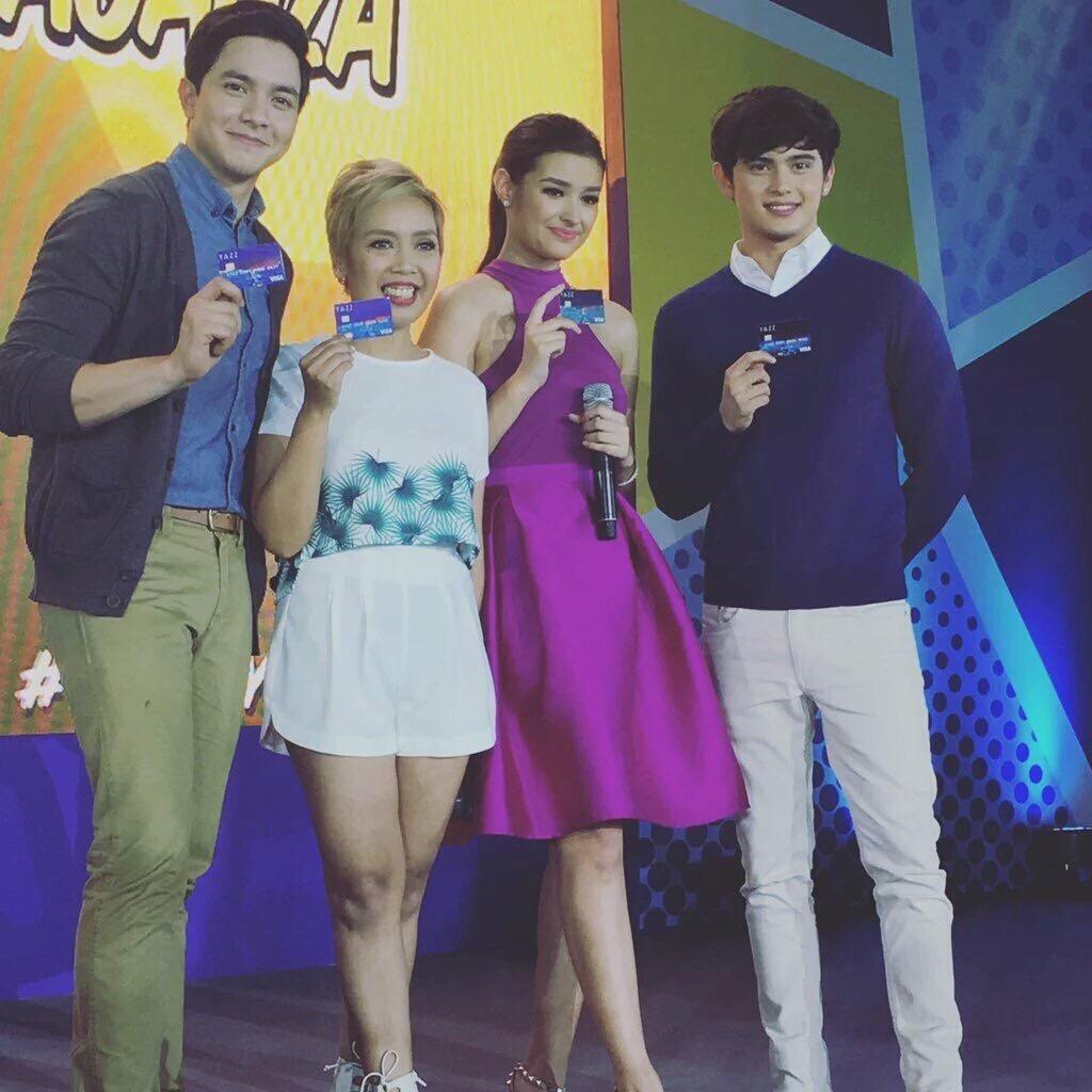 Alden Richards, Cacai Bautista, Liza Soberano, and James Reid Endorse Product