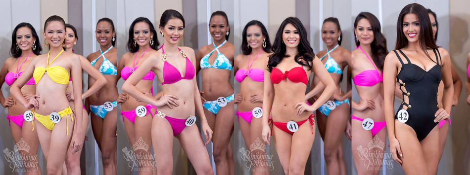 Roshiela Tobias, Jehza Huelar, Angela Lauren Fernando and Angelique de Leon. Photos from Bb. Pilipinas