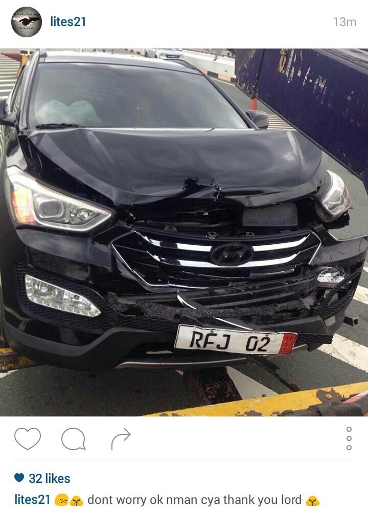 Alden Richards Gets Into Car Accident1