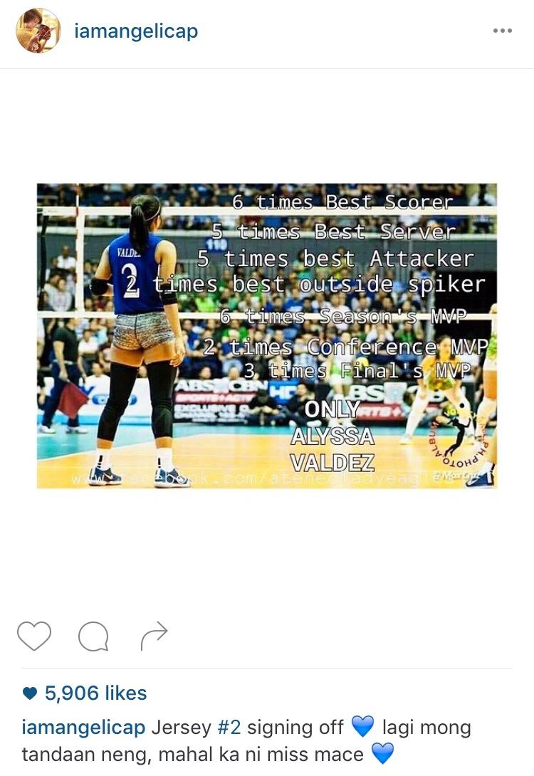 Photo from Instagram: iamangelicap