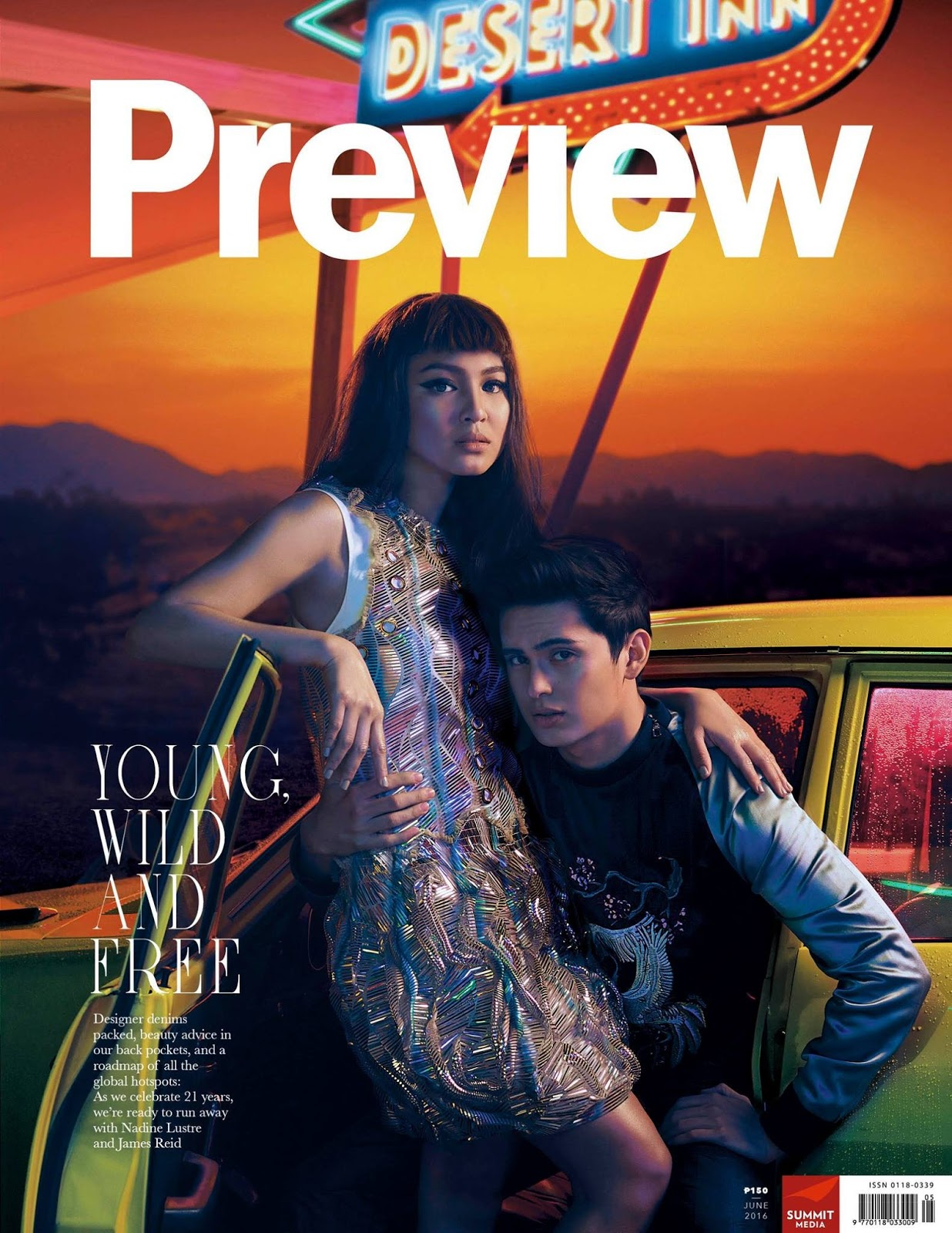 JaDine for Preview Magazine