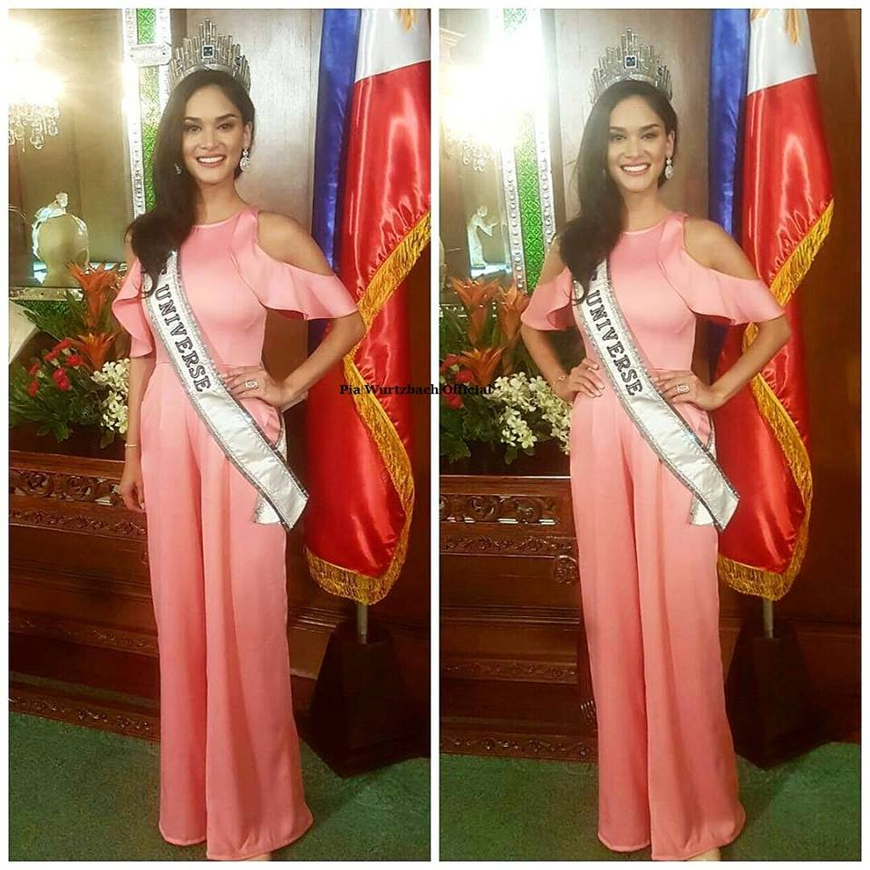 Photo from Facebook: Pia Wurtzbach Official
