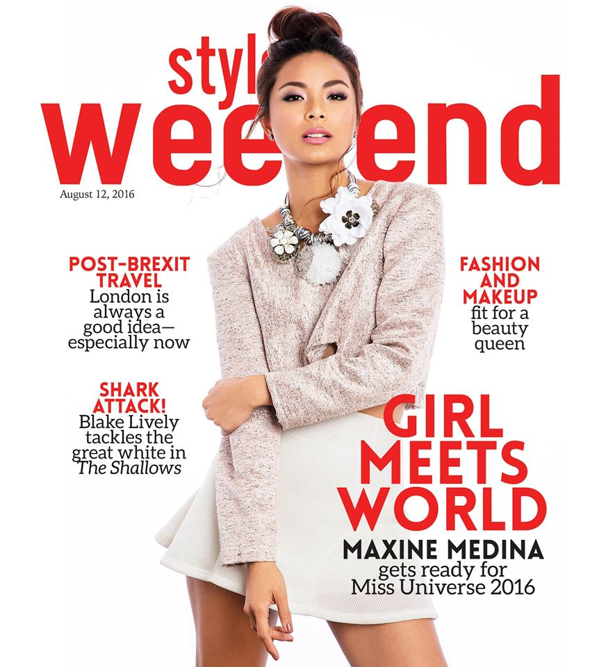 maxine medina for style weekend