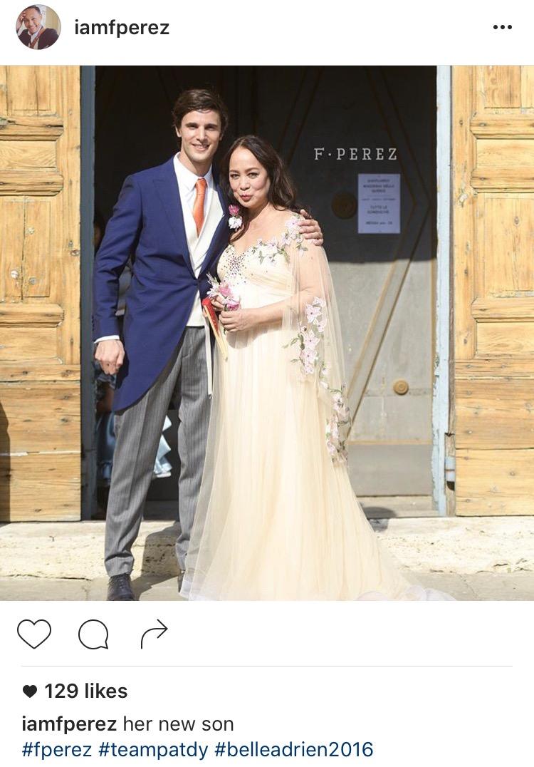 Images courtesy of Instagram: iamfperez