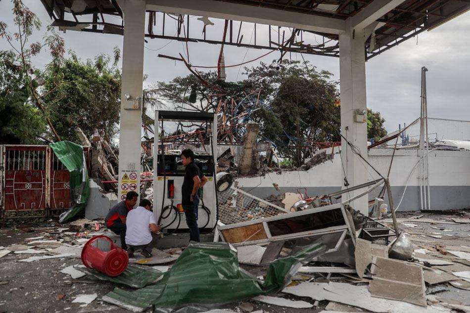 Liquid Petroleum gas refilling station explodes in Pasig City