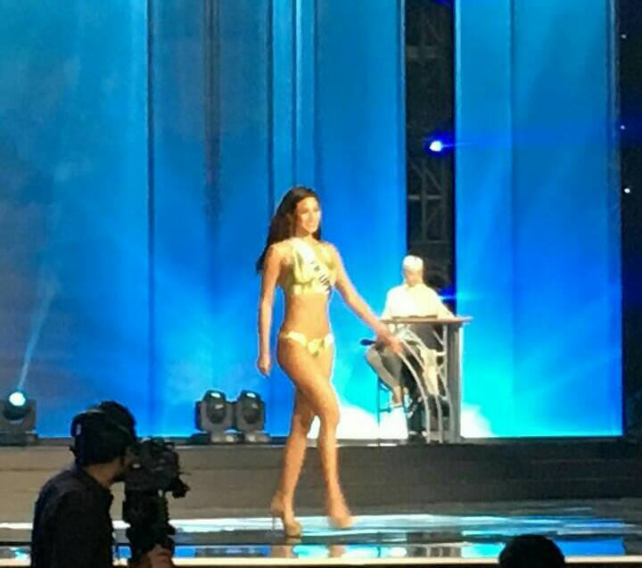 Maxine Medina during Miss Universe Preliminary Competition Rehearsal1