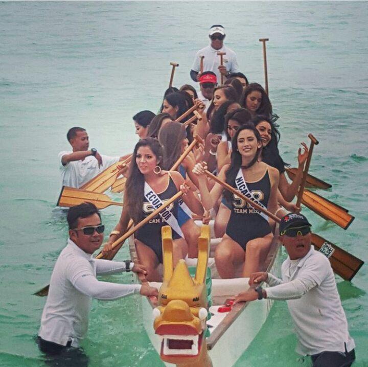 miss universe 2016 in Boracay