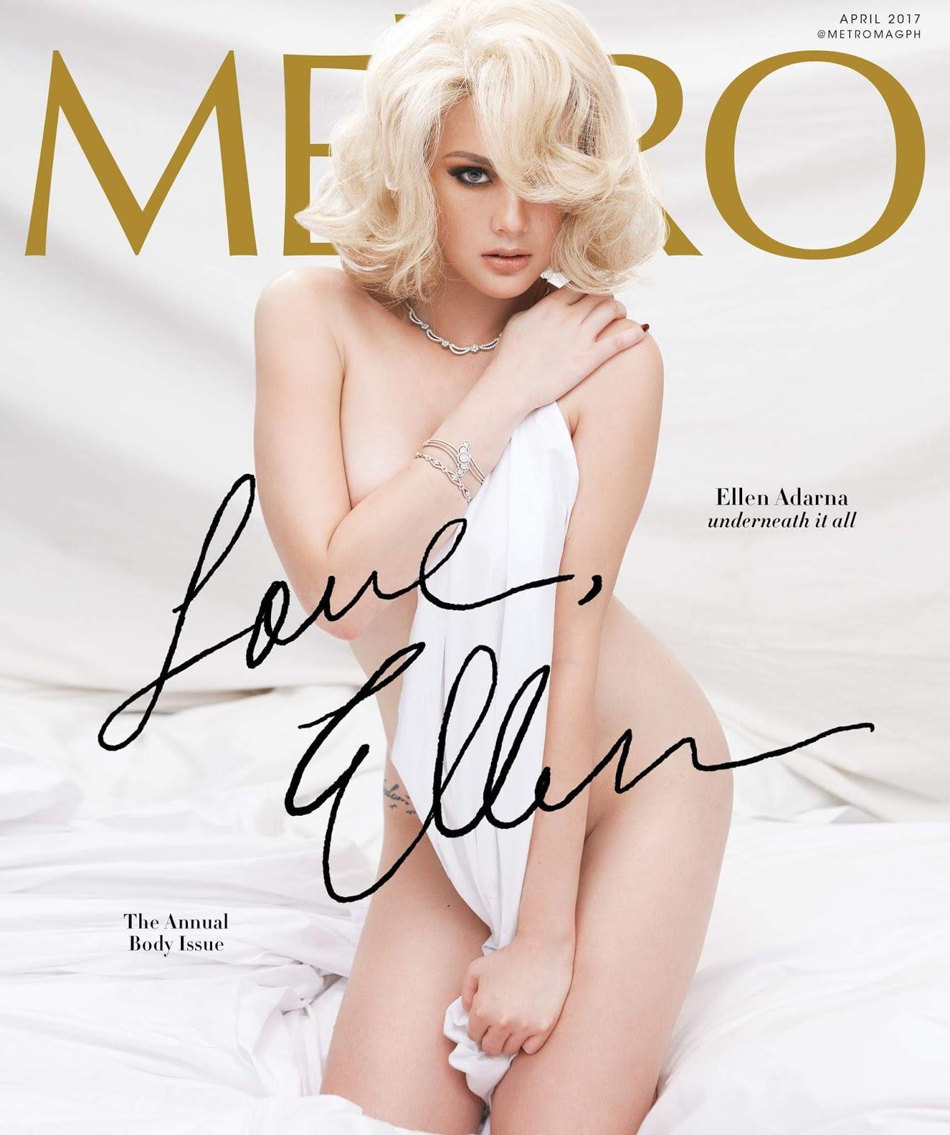 Ellen Adarna on the Cover of Metro