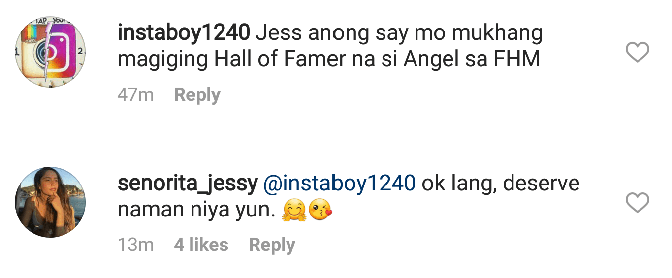 Jessy Mendiola Thinks Angel Locsin Deserves to be an FHM Hall of Famer1