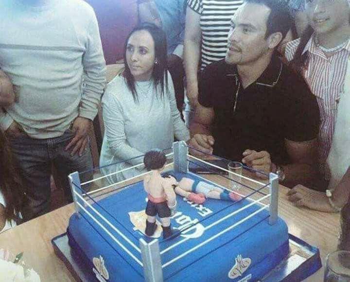 Juan Manuel Márquez retirement cake