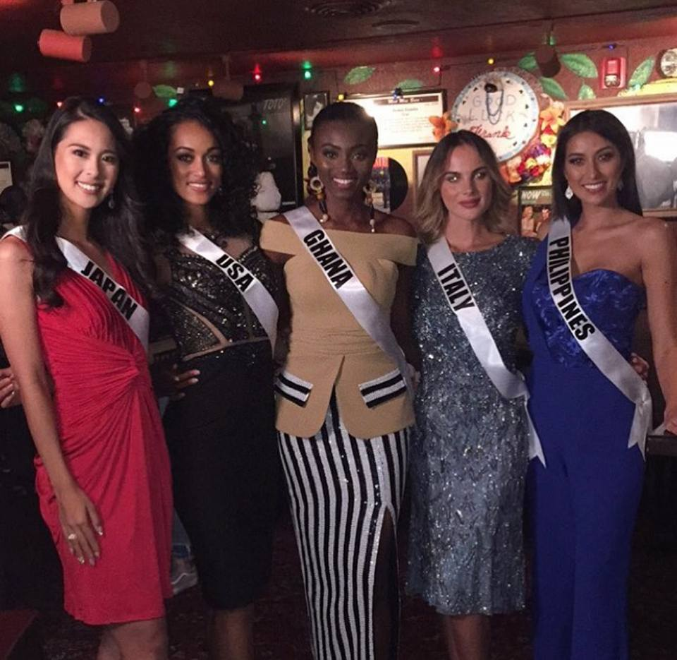 Rachel Peters at Miss Universe 2017 Welcome Dinner