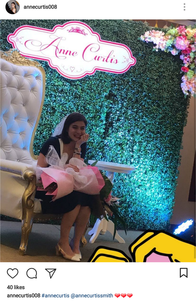Anne Curtis with Bridal Shower