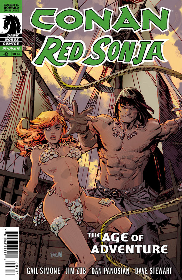 Conan Red Sonja #2