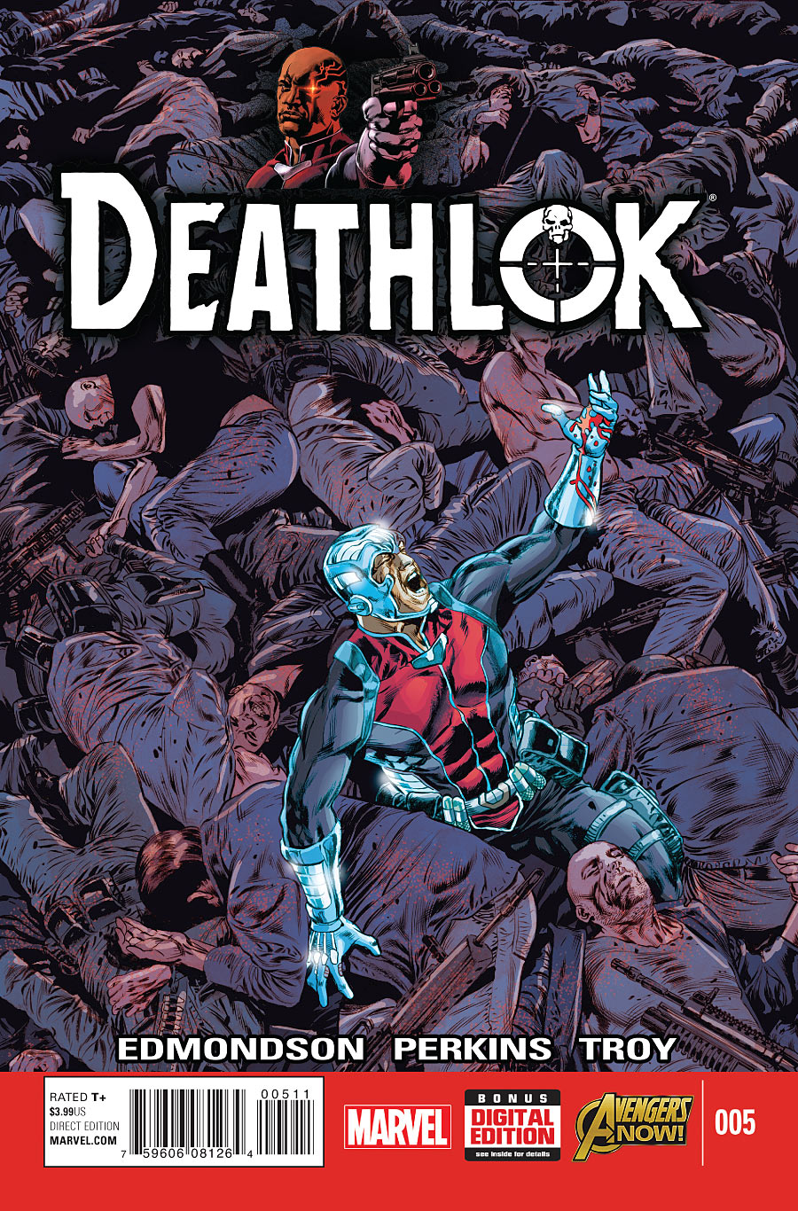 Deathlok No.3 2015 Nathan Edmondson