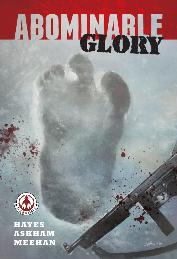 Abominable Glory OGN cover