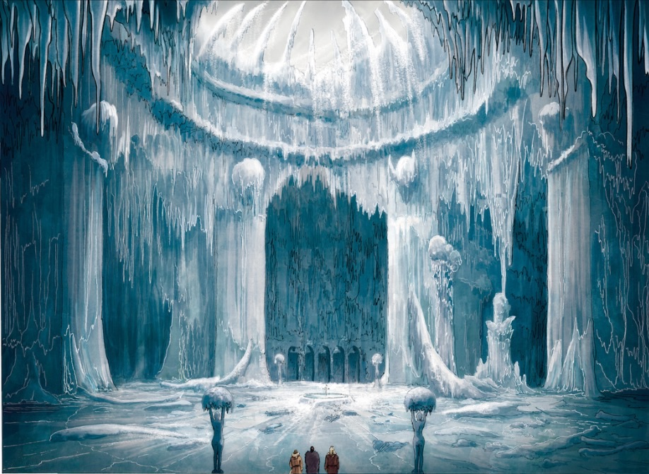 I said, brrr, it's cold in here; There must be some magic swords in the at-mo-sphere
