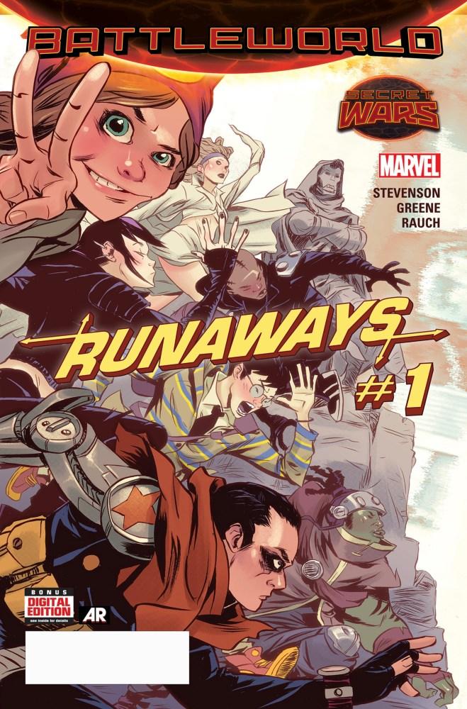 Runaways #1cvrA