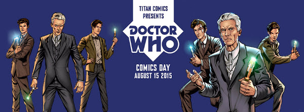 Doctor Who Comics Day Is Now Just Under A Month Away